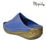 papuci dama din piele naturala cu talpa inalta, Mopiel (3)