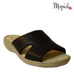 papuci dama din piele naturala flexibili, Mopiel (1)