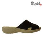 papuci Papuci dama din piele naturala 26500/negru/blu/Bombo papuci dama din piele naturala flexibili Mopiel 3 150x150