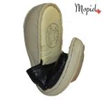 papuci dama din piele naturala flexibili, Mopiel (4)