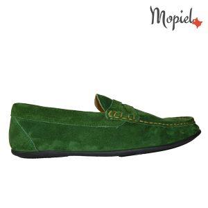 mocasini barbatesti - mocasini brarbatesti din piele naturaloa Mopiel 1 300x300 - Mocasini barbatesti din piele naturala 1340/sp/verde