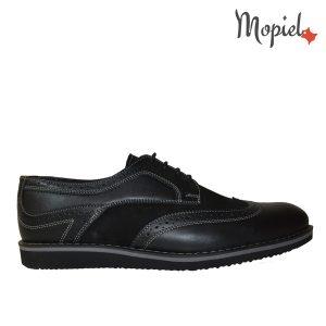 pantofi barbati - 1 42 300x300 - Pantofi barbati, din piele naturala 371/Negru