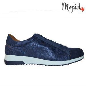pantofi dama - 3 35 300x300 - Pantofi dama din piele naturala 23514/sp/sarpe/bleu/Naty