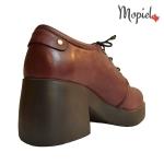 Pantofi dama din piele naturala 650/bordo incaltaminte-mopiel.ro pantofi dama