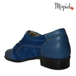 Pantofi dama din piele naturala 23420/blue/Mina incalltaminte-mopiel.ro pantofi dama mina