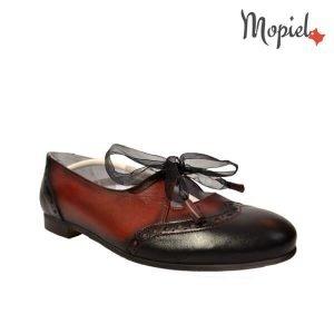 acasa Acasa Pantofi dama din piele naturala cu siret