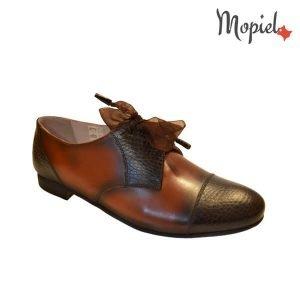 acasa Acasa Pantofi dama din pielle naturala cu siret Mopie