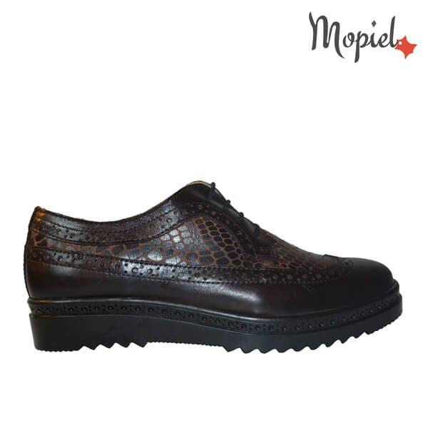 pantofi dama - pantofi dama din piele naturala Mopiel 1 1 600x600 - Pantofi dama din piele naturala 23520/maro/sapre/2/Cezara