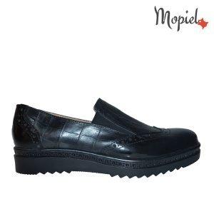 pantofi dama - pantofi dama din piele naturala Mopiel 1 3 300x300 - Pantofi dama din piele naturala 23707/Negru/Cezara