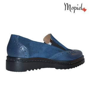 Pantofi dama din piele naturala 23707/blu/Cezara incaltaminte-mopiel.ro pantofi dama