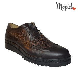 Pantofi dama din piele naturala 23520/maro/sapre/2/Cezara incaltaminte-mopiel.ro pantofi dama