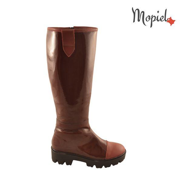 - cizme dama din piele sintetica 22508 bordo lila incaltaminte mopiel - Reduceri cizme din piele naturala