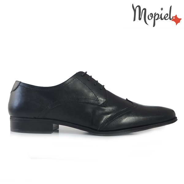 - Pantofi barbati din piele naturala 14205 negru incaltaminte barbati incaltaminte mopiel pantofi barbati - Pantofi barbati H816/Maro/Otelo