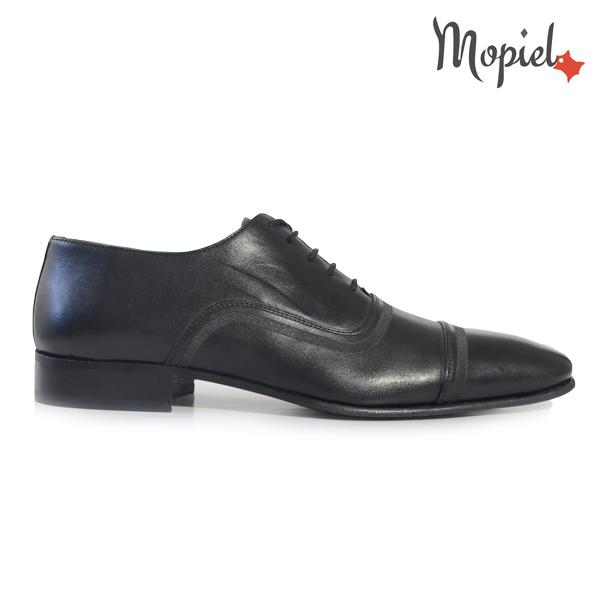 pantofi barbati - Pantofi barbati din piele naturala 149001 negru incaltaminte mopiel pantofi barbati din piele - Pantofi barbati, din piele naturala 371/Negru