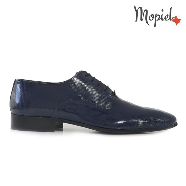 pantofi barbati - Pantofi barbati din piele naturala 149008 112 blu lac incaltaminte barbati pantofi barbati din piele - Pantofi barbati, din piele naturala 149011/119/negru