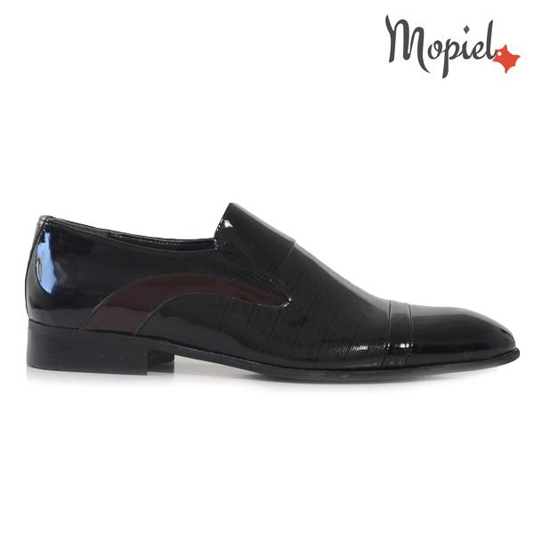 pantofi barbati - Pantofi barbati din piele naturala 149010 113 negru lac incaltaminte barbati incaltaminte pantofi barbati - Pantofi barbati, din piele naturala 149006/107/maro
