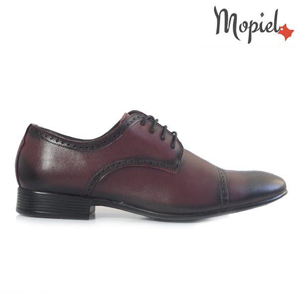 într-adevăr confortabil online de vânzare livrare gratuita Pantofi barbati, din piele naturala 149014/26907 visiniu box