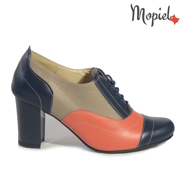 pantofi dama - Pantofi dama din piele naturala 264 bleu cappucino Corai incaltaminte dama incaltaminte mopiel pantofi dama - Pantofi dama din piele naturala 23529/Coniac/Arcadia