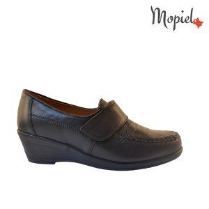 pantofi dama - Pantofi din piele naturala cu talpa ortopedica joasa negrii Mopiel 1 300x300 - Pantofi dama din piele naturala Adina/negru