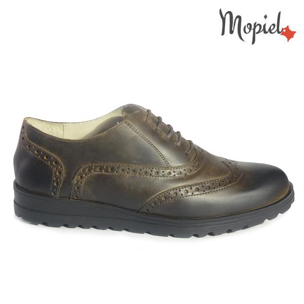 pantofi dama - 22 - Pantofi dama din piele naturala 23507/maro/Newbiker