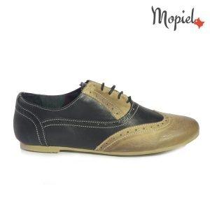 pantofi dama din piele naturala - Pantofi dama din piele naturala 23404 1 Crem Negru incaltaminte dama incaltaminte mopiel pantofi dama 300x300 - Pantofi dama din piele naturala 23404-1/Crem-Negru