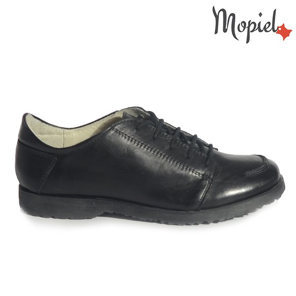 pantofi dama - Pantofi dama din piele naturala 23801 negru Road pantofi dama cu talpa joasa incaltaminte dama pantofi dama - Pantofi dama din piele naturala 23528/Maro/Arcadia