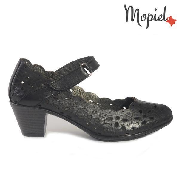 sandale dama piele - Pantofi dama din piele naturala 248304 702 negru Angela incaltaminte dama incaltaminte mopiel pantofi dama - Sandale dama din piele naturala 248303/701/negru/Alina