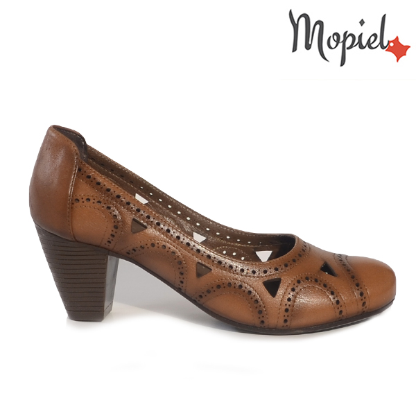 pantofi dama - Pantofi dama din piele naturala 248305 2121 maro Tania incaltaminte dama pantofi dama - Pantofi dama din piele naturala 248304/702/Negru/Angela