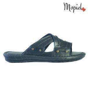 papuci barbati - Papuci barbati din piele naturala RivanegruCostin papuci 300x300 - Papuci barbati din piele naturala Riva/Negru/Costin