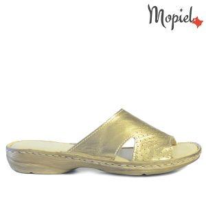 papuci dama - Papuci dama din piele naturala 2642 Auriu Malaga incaltaminte dama papuci incaltaminte mopiel papuci dama 300x300 - Papuci dama din piele naturala 2642/Auriu/Malaga