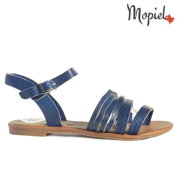 - Sandale dama din piele naturala 25520 Albastru Aisha incaltaminte dama sandale dama incaltaminte mopiel sandale dama - LICHIDARI DE STOC