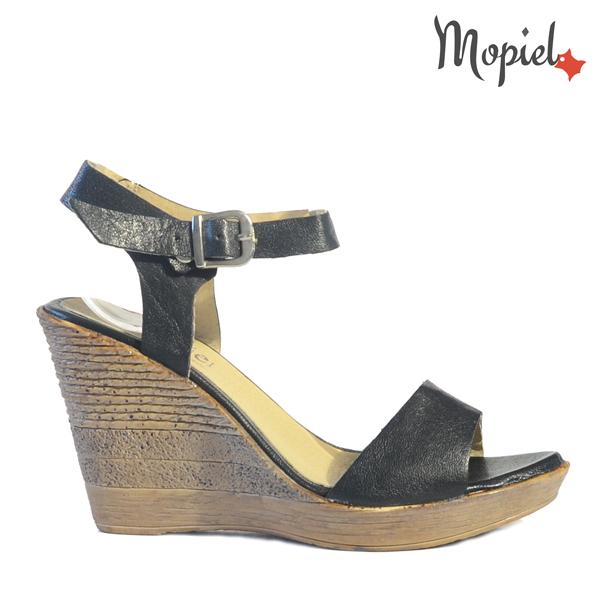 pantofi dama din piele naturala - Sandale dama din piele naturala 25521negruDaria - Pantofi dama din piele naturala 491/Argintiu/Agnes