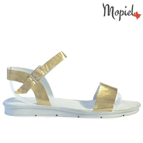 - Sandale dama din piele naturala 25623 Auriu Francesca incaltaminte dama incaltaminte mopiel sandale dama 600x600 - LICHIDARI DE STOC