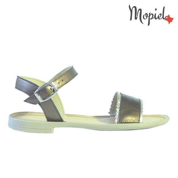 sandale dama - Sandale dama din piele naturala 25623maroauriuSilvia cu catarama - Sandale dama din piele naturala 25804/Negru/Silvia