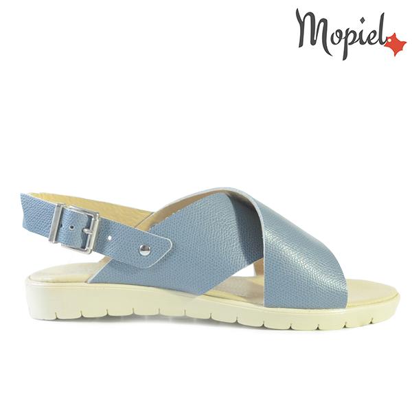 - Sandale dama din piele naturala 25624 Albastru Francesca incaltaminte sandale incaltaminte mopiel sandale dama - LICHIDARI DE STOC