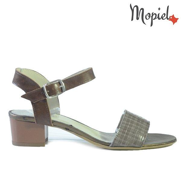 - Sandale dama din piele naturala 25634 Maro Ioana incaltaminte dama incaltaminte mopiel - LICHIDARI DE STOC