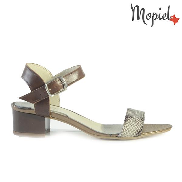 - Sandale dama din piele naturala 25634Np Croco MaroLivia - LICHIDARI DE STOC
