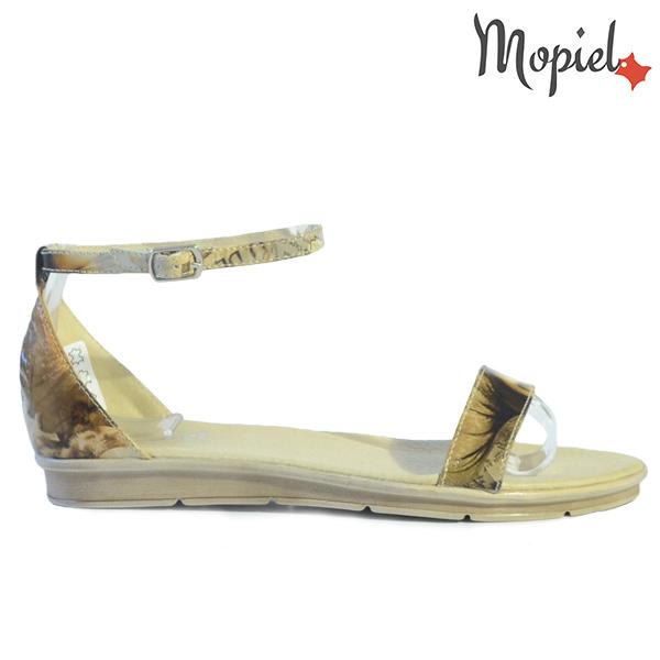 sandale dama - Sandale dama din piele naturala 25910 Bej Francesca incaltaminte dama sandale dama - Sandale dama din piele naturala 25521/negru/Daria