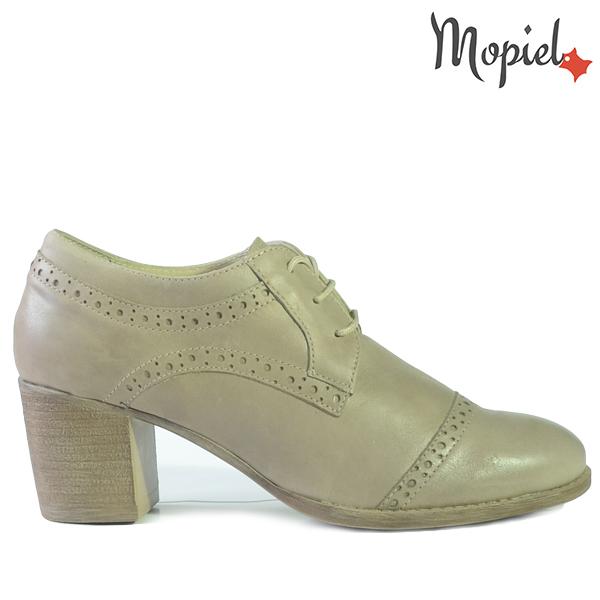 sandale dama - Pantofi dama din piele naturala 23528 Taupe Arcadia incaltaminte dama pantofi incaltaminte mopiel pantofi dama - Sandale dama din piele naturala 25801/Maro-Print/Silvia