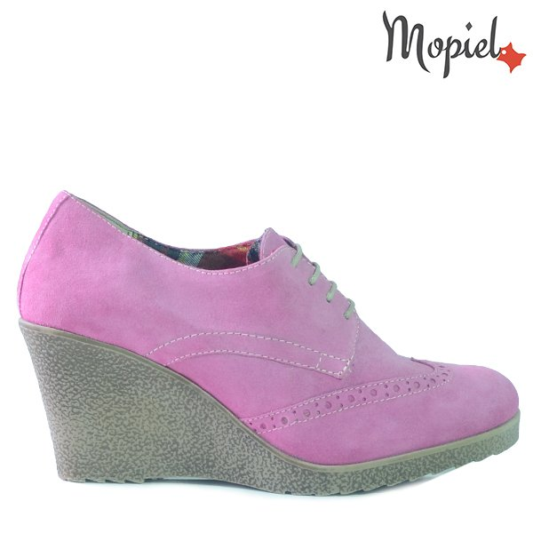 - Pantofi dama din piele naturala 24318 Roz Xenia incaltaminte dama pantofi dama incaltaminte mopiel pantofi dama - REDUCERI FINALE DE VARA!