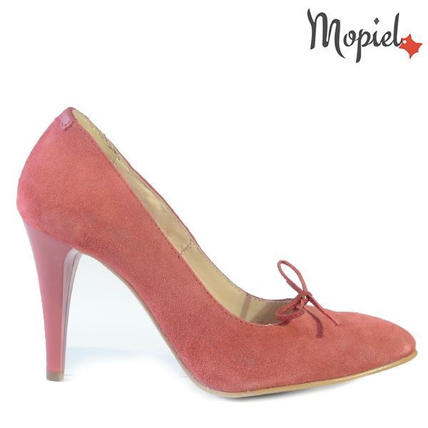 pantofi barbati - Pantofi dama din piele naturala 24420 Rosu Capri incaltaminte dama pantofi dama incaltaminte mopiel pantofi dama - Pantofi barbati din piele naturala 14205/Negru/Oslo