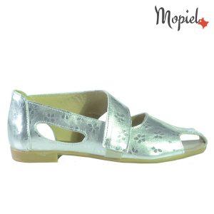 sandale dama - 1 3 300x300 - Sandale dama din piele naturala 2332/Argintiu/Baly
