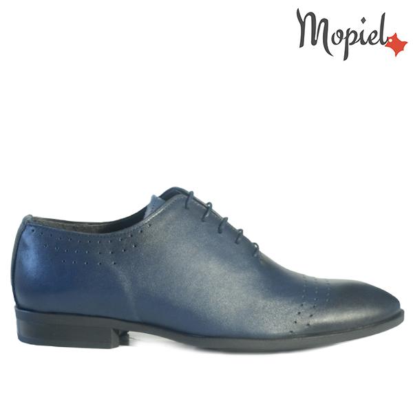 pantofi barbati - Pantofi barbati din piele naturala 148501 024 Blue Brian incaltaminte barbati - Pantofi barbati, din piele naturala 148505/321/Blue/Walker