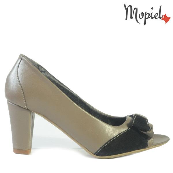 pantofi barbati - Pantofi dama din piele naturala 24303 Maro Lemon - Pantofi barbati din piele naturala 13203/Maro-Cafea/Ezel