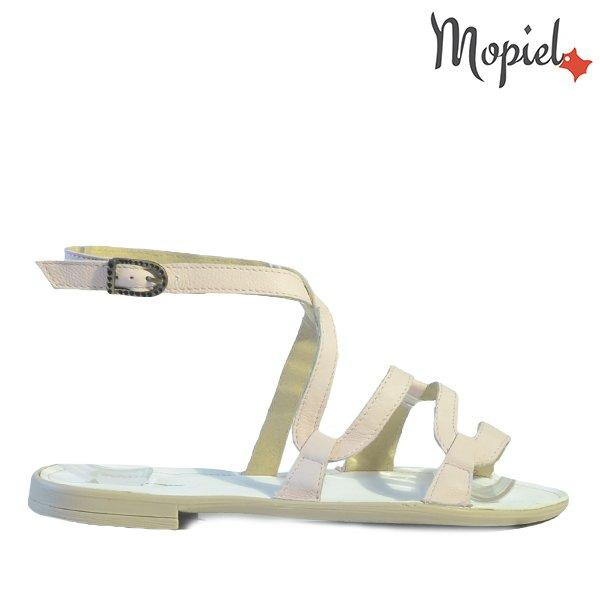 sandale dama - Sandale dama din piele naturala 25802 Capra Roz Silvia incaltaminte dama sandale dama - Sandale dama din piele naturala 25802/Nubuc-Bej/Silvia