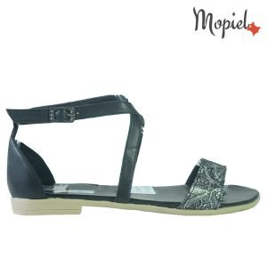 sandale dama - Sandale dama din piele naturala 25810NegruSilvia 300x300 - Sandale dama din piele naturala 25810/Negru/Silvia