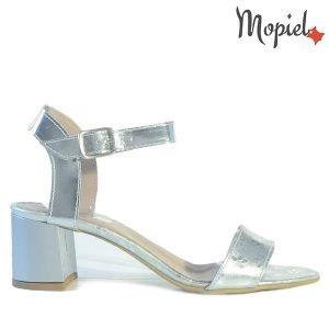 sandale dama - Sandale dama din piele naturala 25634ArgintiuPoly 300x300 - Sandale dama din piele naturala 25634/Argintiu/Poly