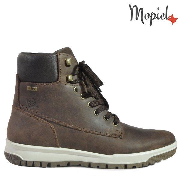 pantofi barbati - Ghete barbati 118808 4251 - Pantofi barbati 138804/11265016/Gri-Inchis/Eduard