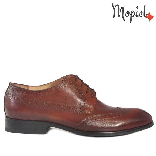 - Pantofi barbati din piele 13602 Bordo Ape Dirk - Ghete barbati din piele naturala 118903/832/Blue/Robert