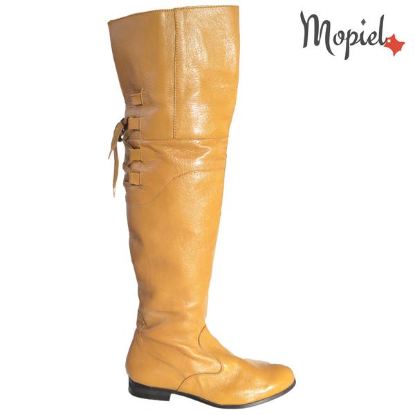 cizme dama - Cizme dama din piele naturala 22924MaroRoxy cu blanita groasa - Cizme dama din piele naturala 22320/Negru/Cami